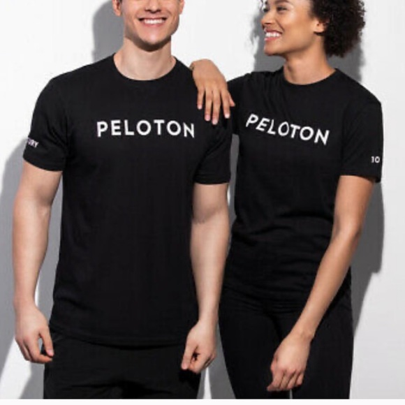 Peloton century 100 ride T-shirt black medium